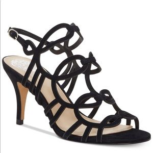 Vince Camuto sandals new with box black